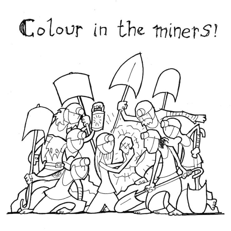 Snow White Miners ballet lorent
