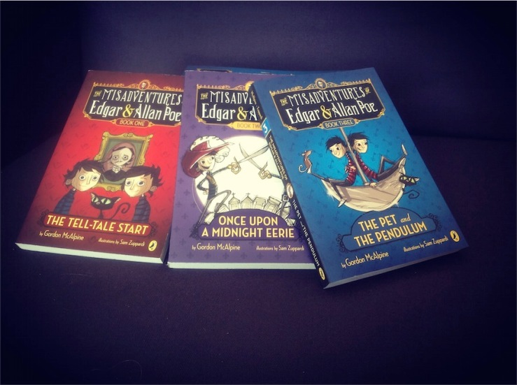 Poe Boys trilogy in paperback